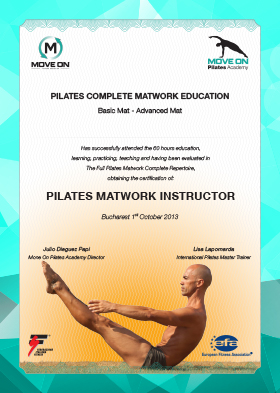Pilates MAtwork Instructor
